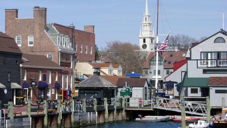 Newport, Rhode Island. Photo via Shutterstock.