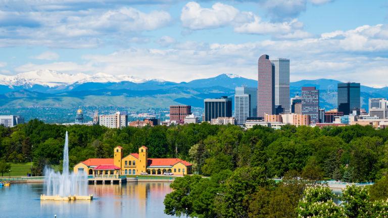 City Park in Denver. Pic via Shutterstock.