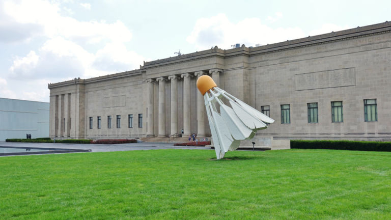 Nelson-Atkins Museum of Art in Kansas City. Pic via Shutterstock.