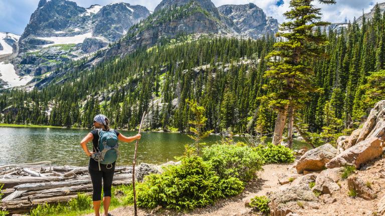 Rocky Mountain National Park. Pic via Shutterstock.