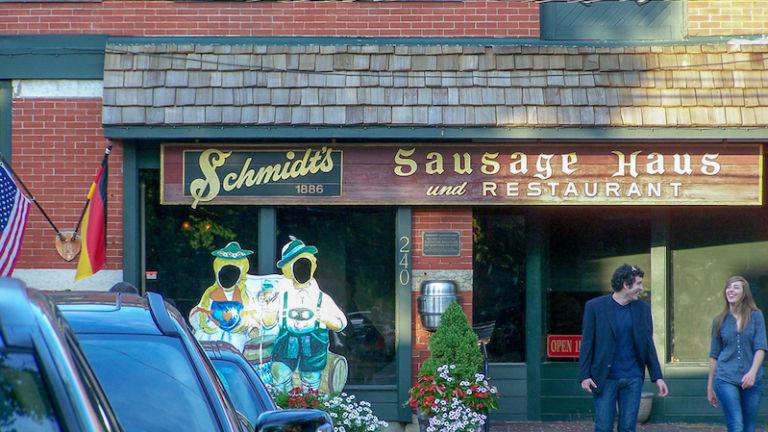 Schmidt's Sausage Haus in Columbus.