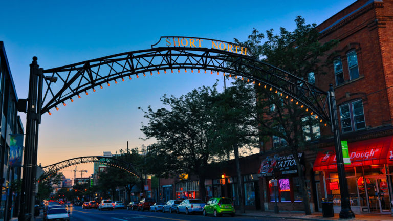 Short North in Columbus. Pic via Shutterstock.