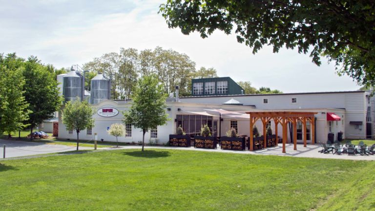 Harpoon Brewery Riverbend Taps and Beer Garden
