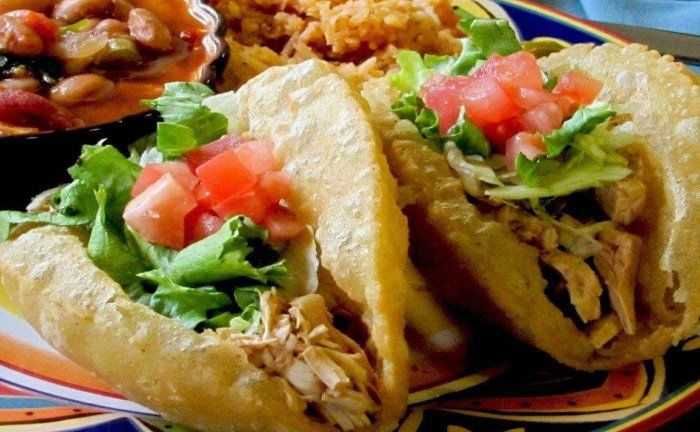 Henry's Puffy Tacos Cantina in San Antonio.