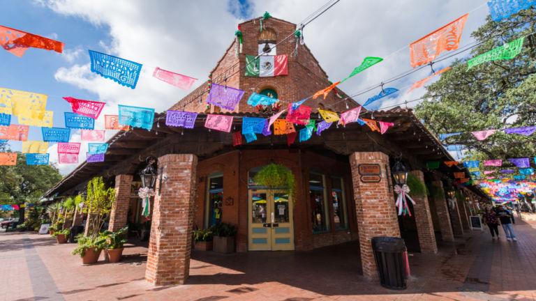 Historic Market Square in San Antonio. Pic vis Shutterstock.