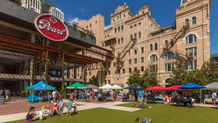 The Pearl District in San Antonio. Pic via Shutterstock.