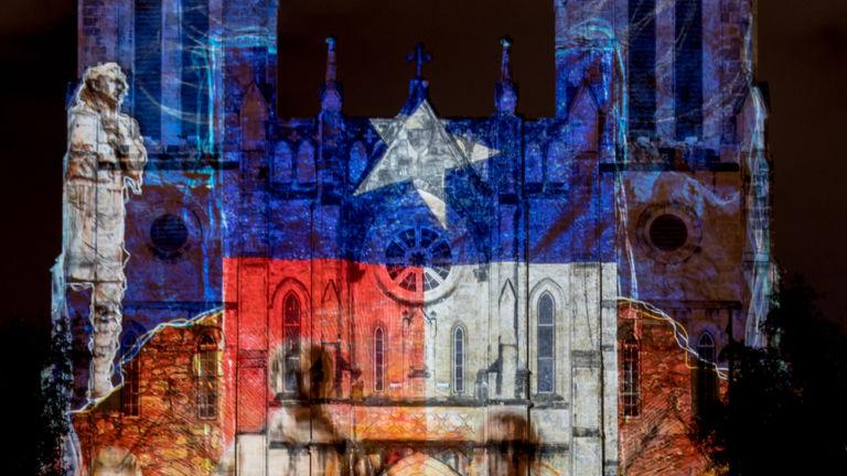 San Fernando Cathedral in San Antonio. Pic via Shutterstock.