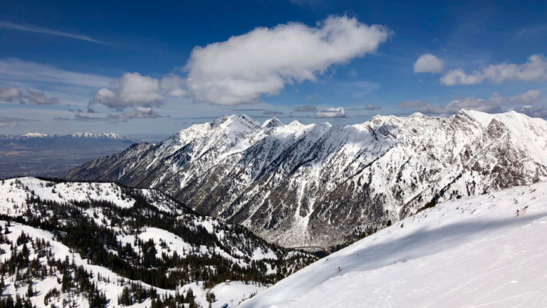 Alta Ski Area in Salt Lake City. Pic via Shutterstock.
