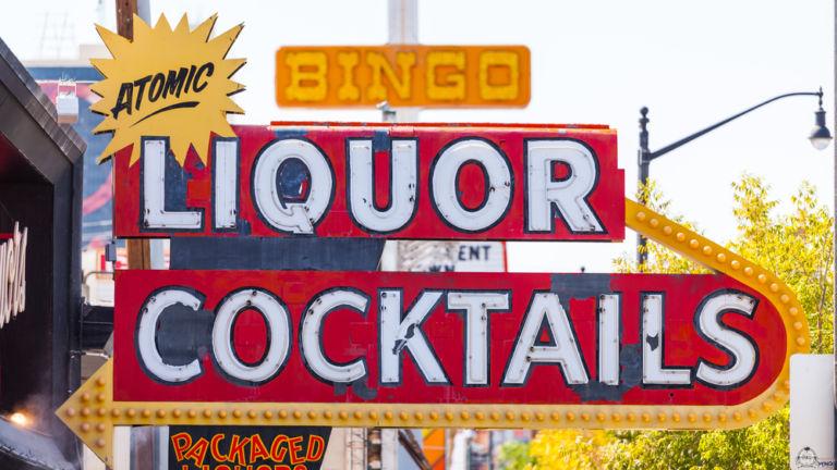 Atomic Liquors. Pic via Shutterstock.