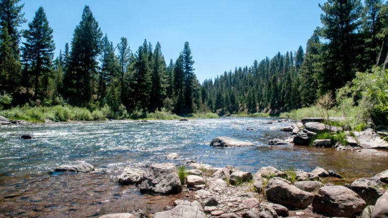 Blackfoot River, Montana. Photo credit: Shutterstock.