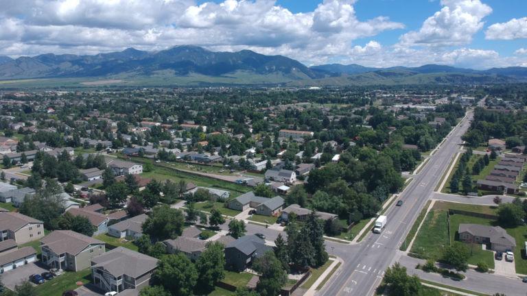 Bozeman, Montana. Pic via Shutterstock.