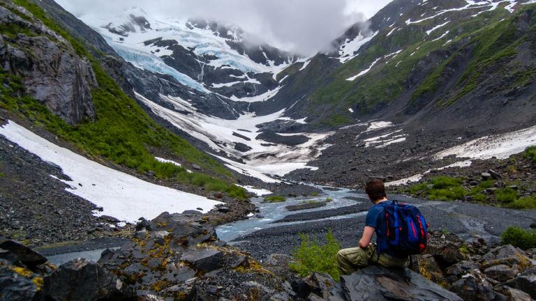 Byron Glacier Trail. Shutterstock