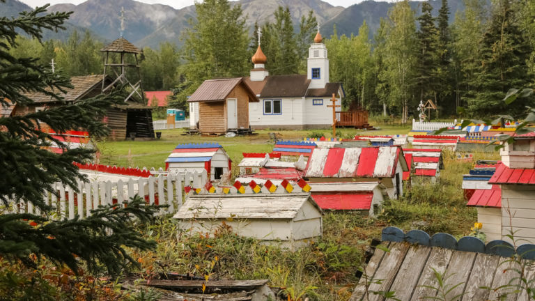 Eklutna Historical Park, Anchorage.