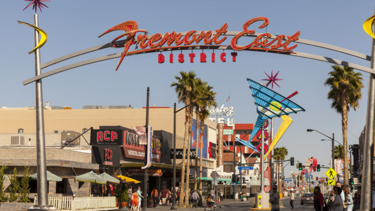 Fremont East in Downtown