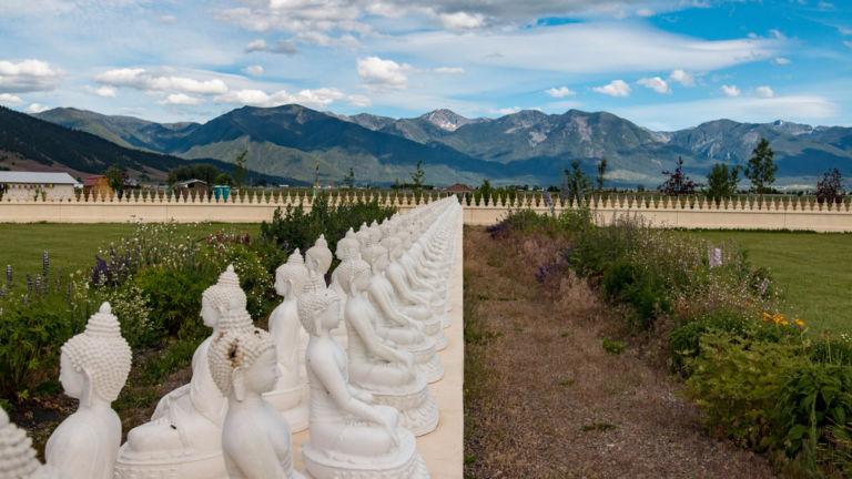 Garden of One Thousand Buddhas, Montana. Photo credit: Shutterstock.