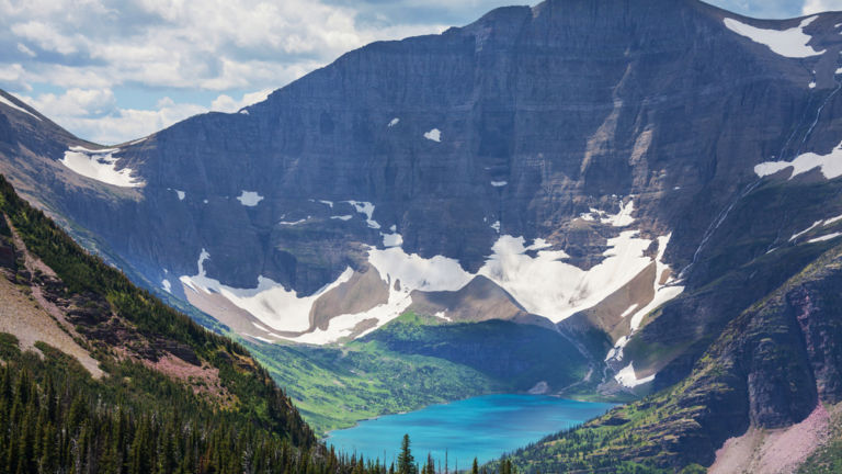 Glacier National Park, Montana. Pic via Shutterstock.