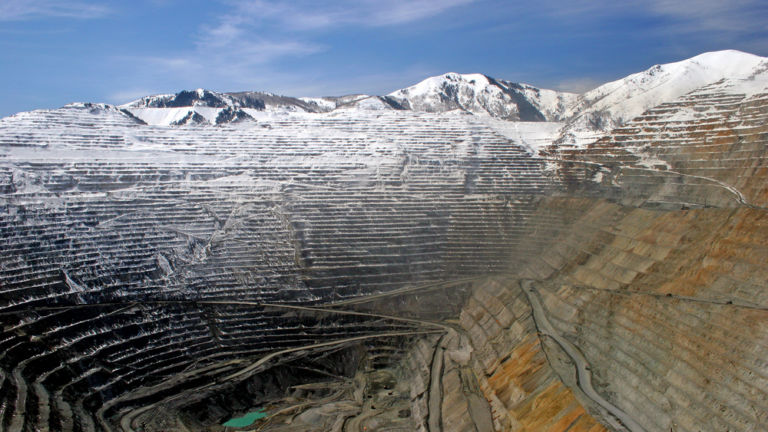 Kennecott Copper Mine, Salt Lake City.