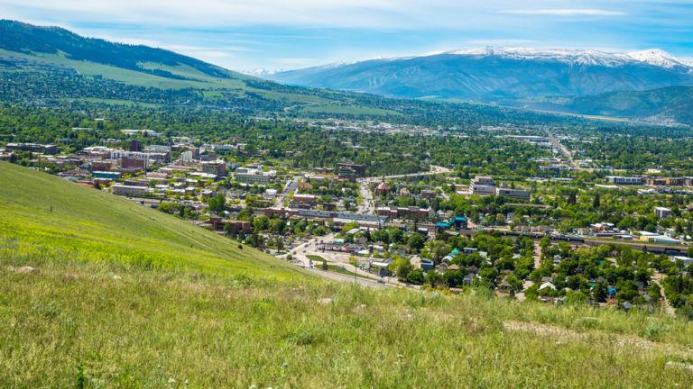 Missoula, Montana. Pic via Shutterstock.