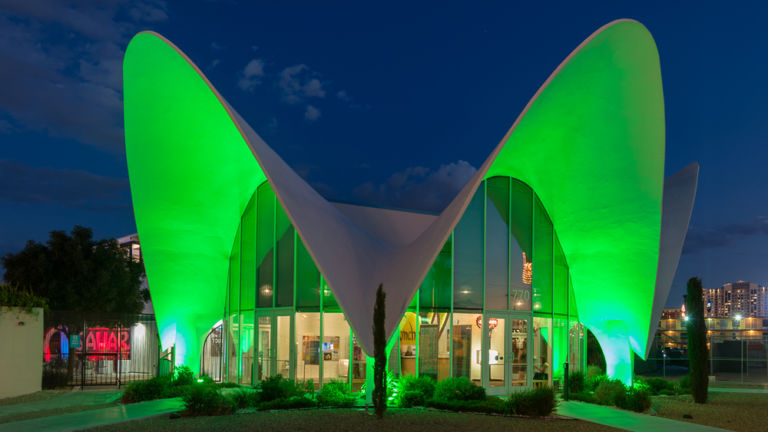 The Neon Museum. Pic via Shutterstock.