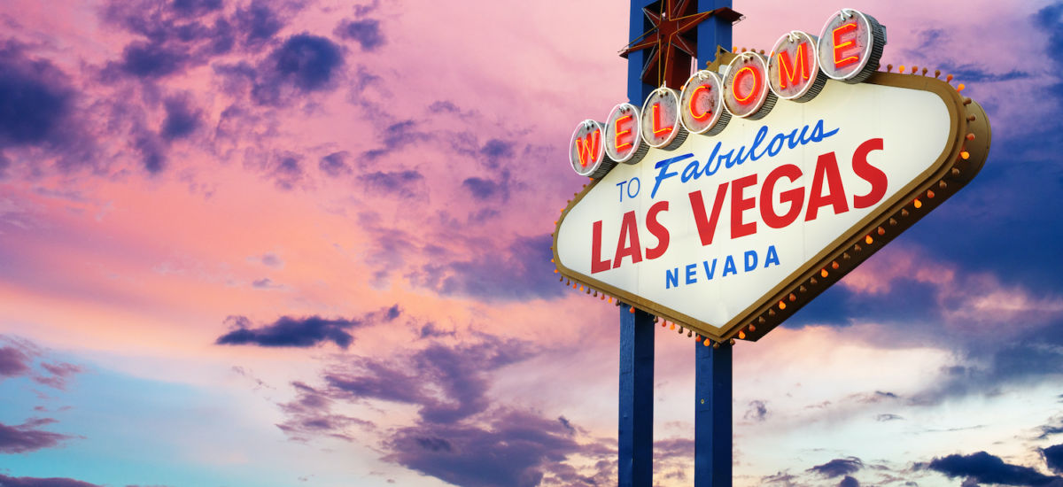 Las Vegas pic via Shutterstock