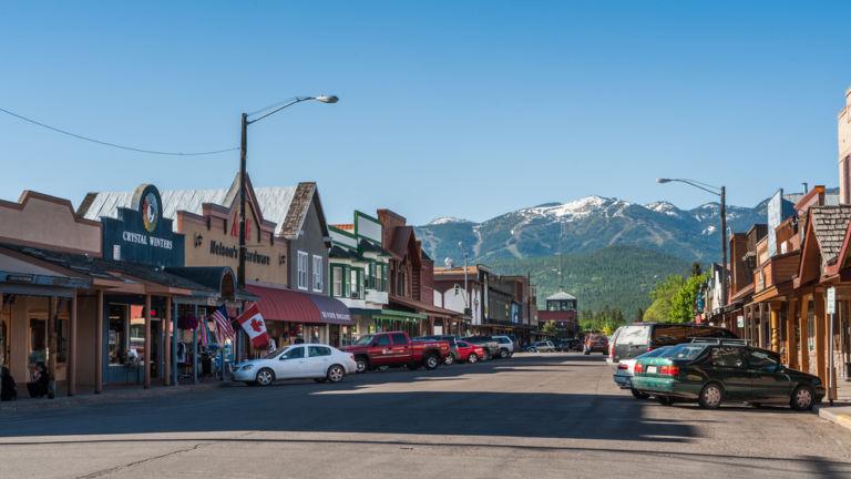 Whitefish, Montana. Pic via Shutterstock.