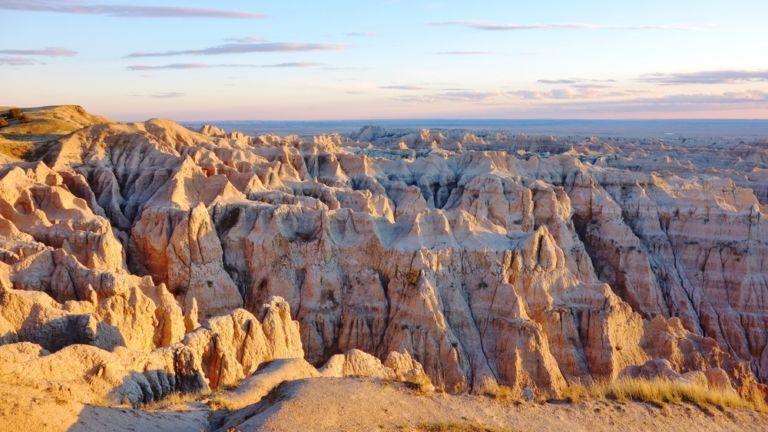 Badlands National Park, South Dakota. Pic via Shutterstock.