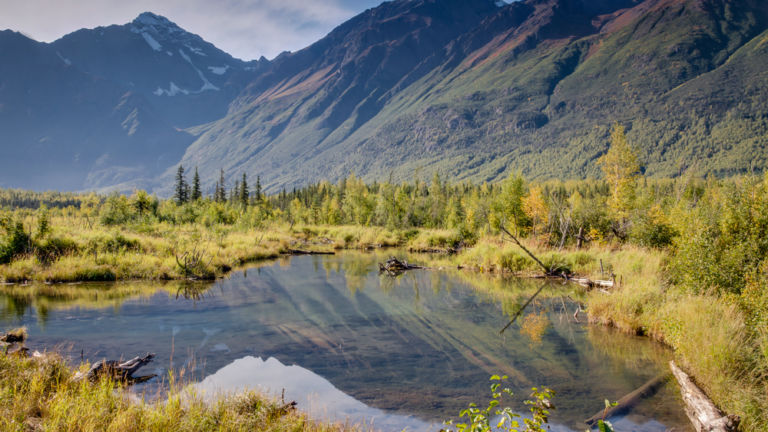 Eagle River Nature Center, Anchorage. Shutterstock.