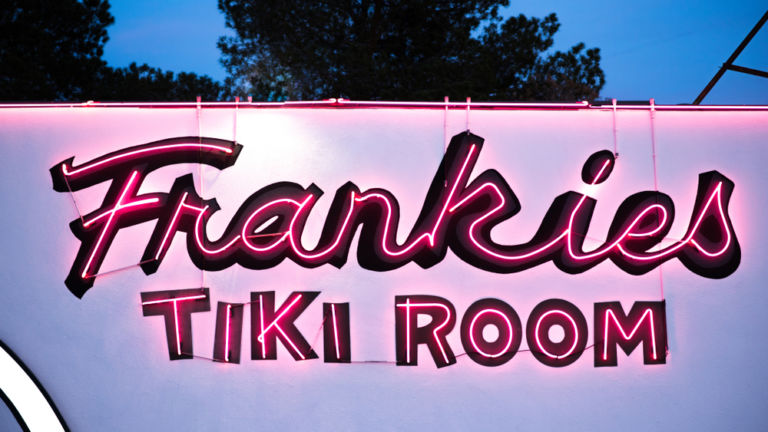 Frankie's Tiki Room. Pic via Shutterstock.