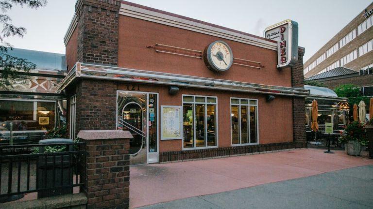 Diner on Phillips Ave., Sioux Falls, South Dakota.