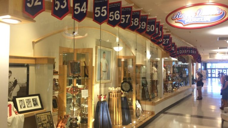 Roger Maris Museum in Fargo, North Dakota.