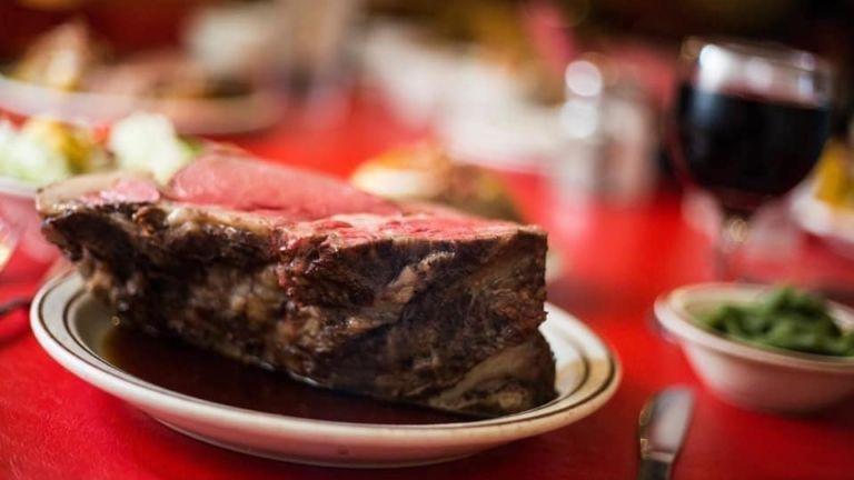 Farmer Brown's steak in Omaha, Nebraska.