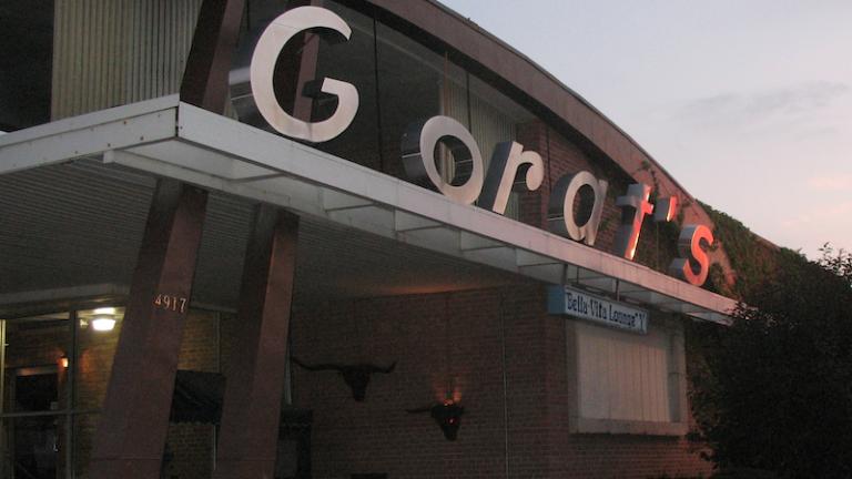 Gorat's in Omaha, Nebraska.