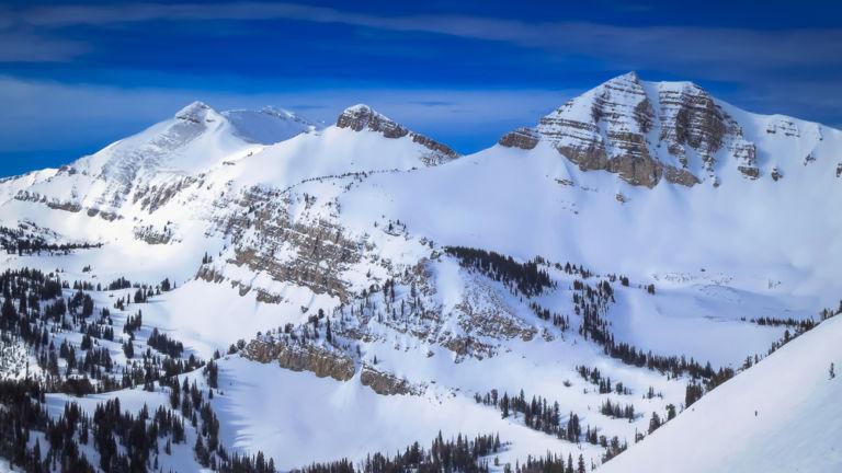 Jackson Hole Mountain Resort, Jackson, Wyoming. Pic via Shutterstock.