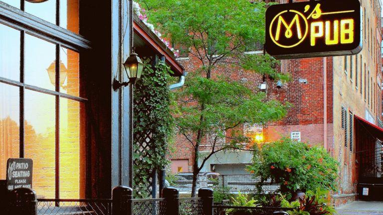 M's Pub in Omaha, Nebraska.
