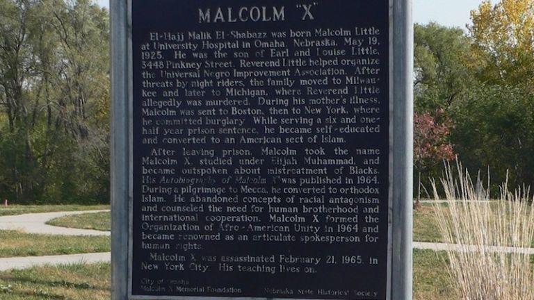 Malcolm X House Site in Omaha, Nebraska.