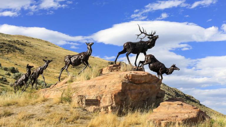 National Museum of Wildlife Art, Jackson, Wyoming. Credit: Shutterstock.