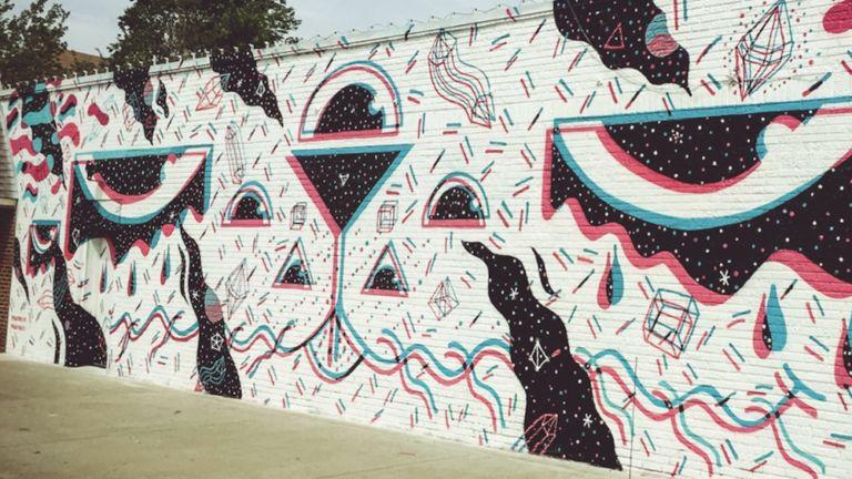Plaza Walls, Oklahoma City