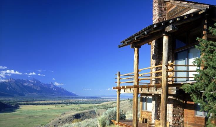 Spring Creek Ranch, Jackson, Wyoming.