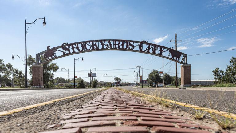 Stockyards City in Oklahoma City. Pic via Shutterstock.