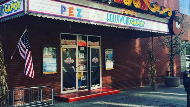 Hollywood Candy and Variety Store in Omaha, Nebraska.