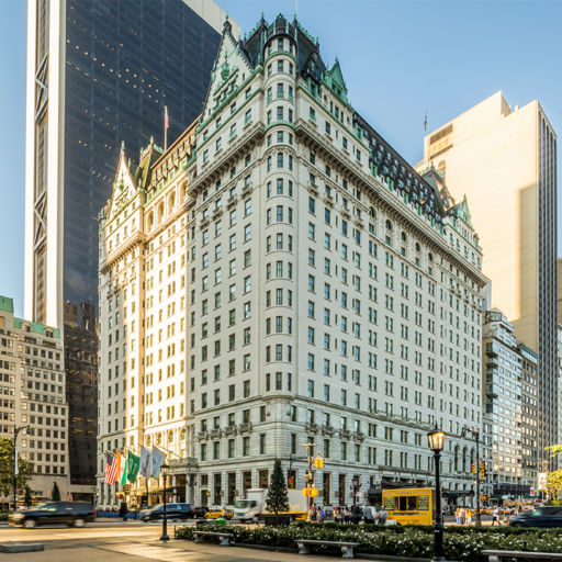 Plaza Hotel pic via Shutterstock
