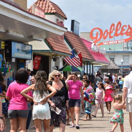 Rehoboth Beach, Delaware. Photo cred: Shutterstock.