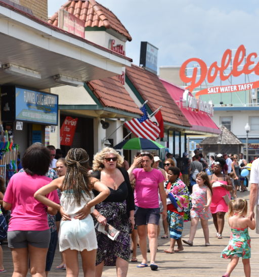 Rehoboth Beach, Delaware. Photo cred: Shutterstock.