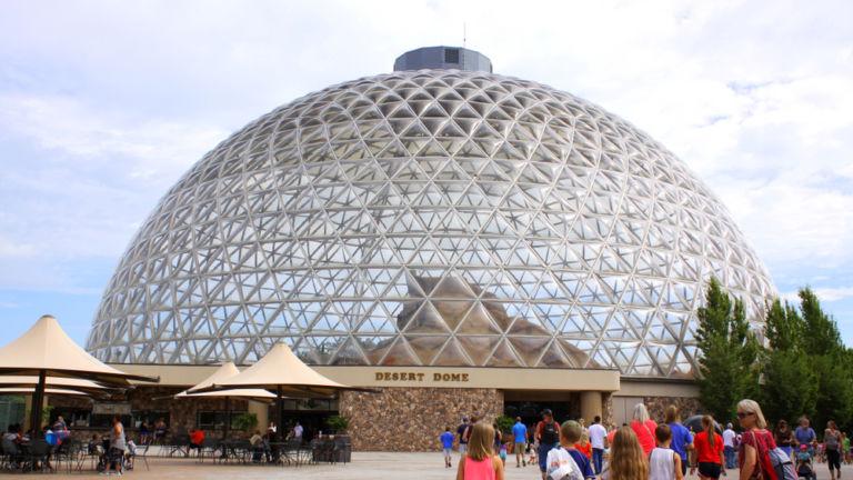 The Desert Dome in Omaha, Nebraska.