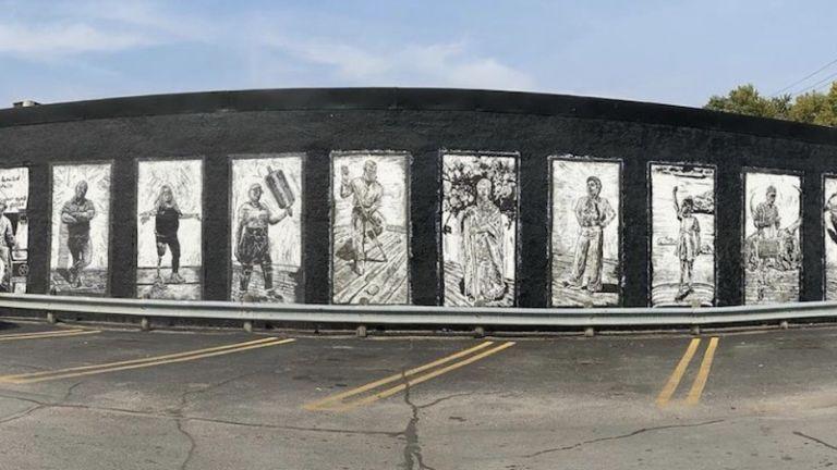 Watie White Murals in Omaha, Nebraska.