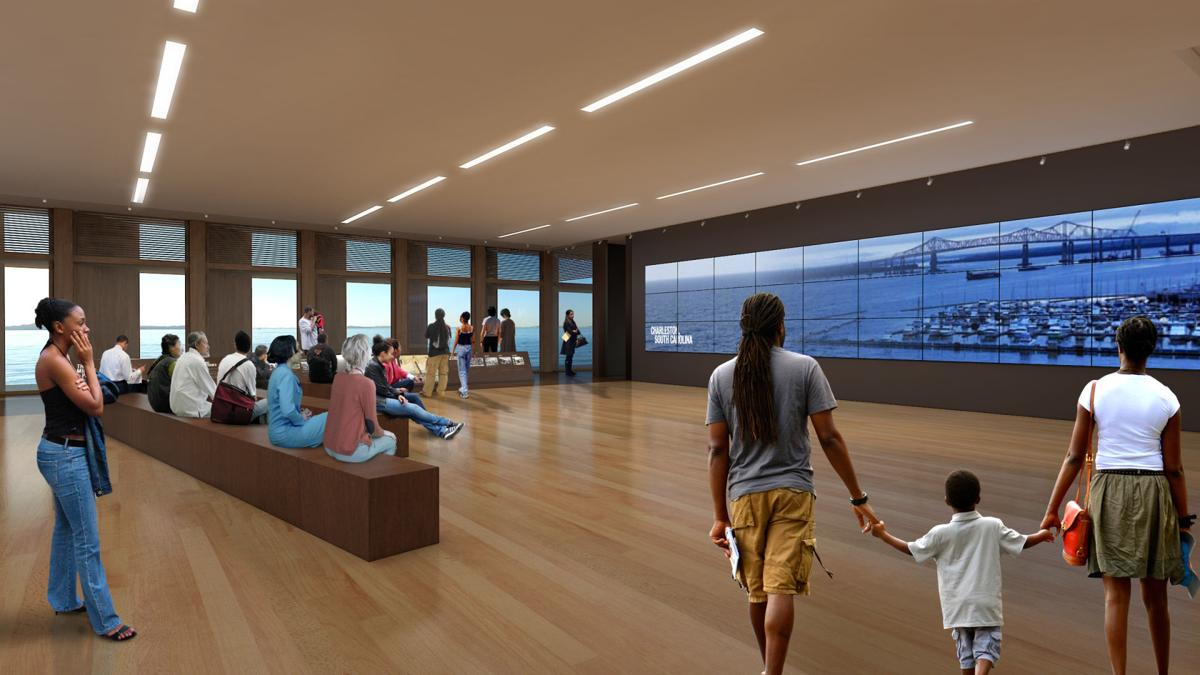 Charleston's Black Community Pushes for Tourism Changes. Artist rendering of International African American Museum set to open in 2022. Image via iaamuseum.org/