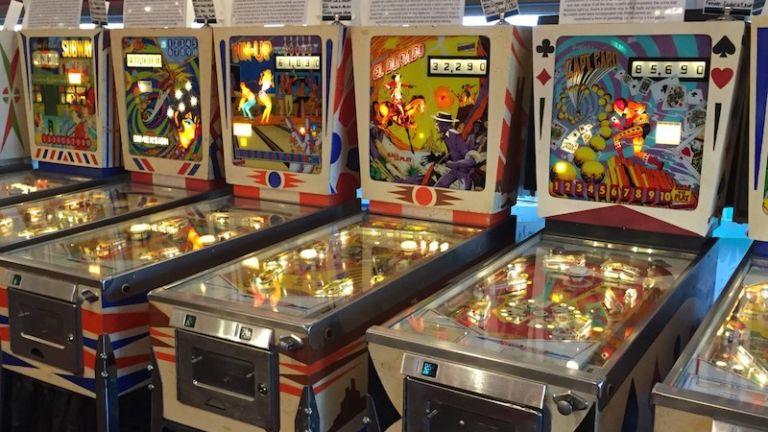 Silverball Museum Arcade in Asbury Park, N.J.