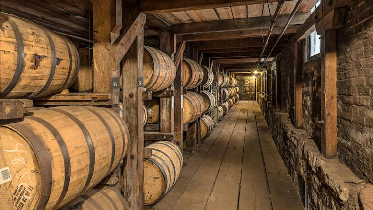 Buffalo Trace Distillery in Lexington, Kentucky. Photo cred Shutterstock.