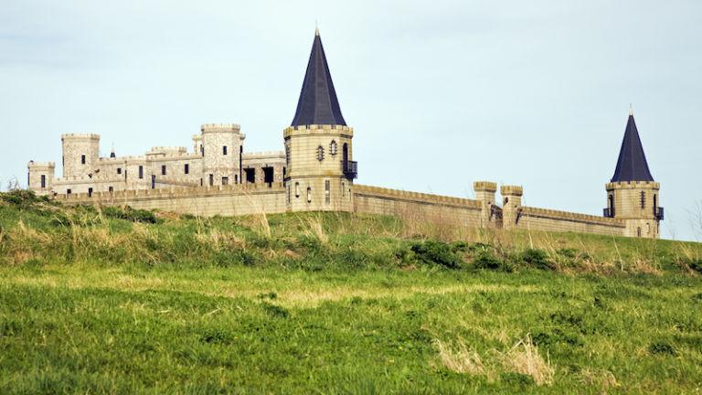 The Kentucky Castle in Lexington, Kentucky. Photo credit Shutterstock.