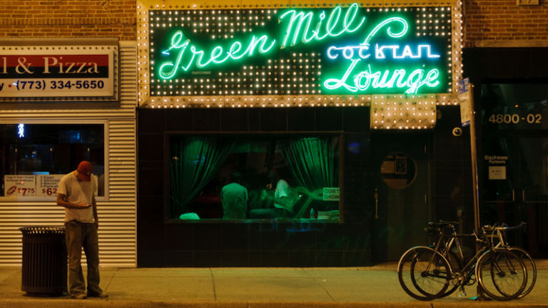 Green Mill Cocktail Lounge in Chicago. Photo via Shutterstock.
